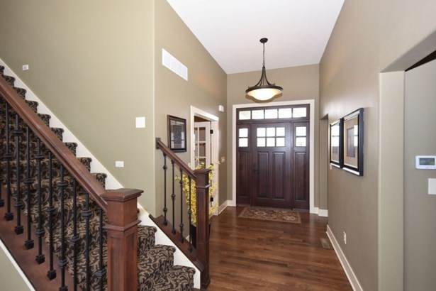 Foyer with Hickory Wood Floors (photo 2)