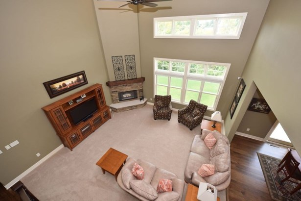 View of Great Room from Loft (photo 4)