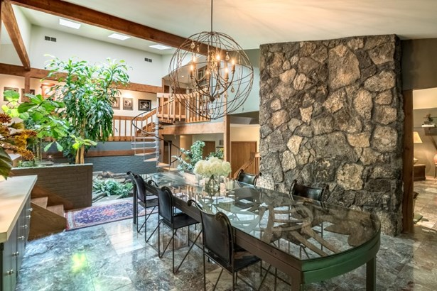 Living Room w/Volcanic Rock FP (photo 3)