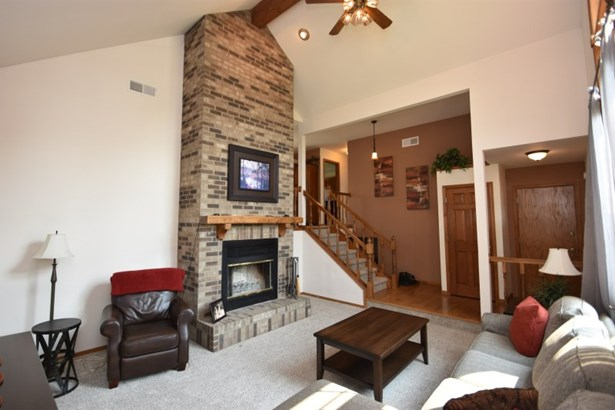 Fireplace and Staircase (photo 4)