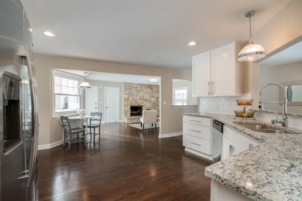 Kitchen open to Family Room (photo 4)