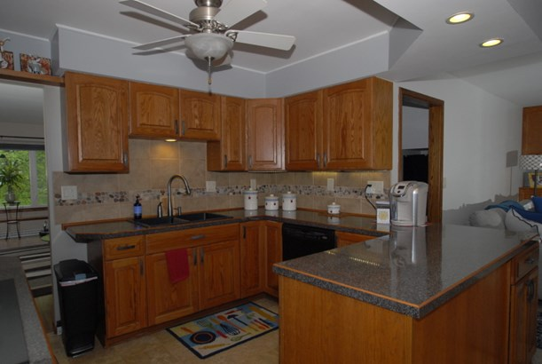Custom Oak Cabinets (photo 2)