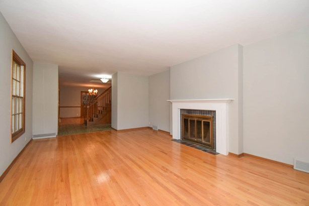 Living Room: 2 way fireplace (photo 3)