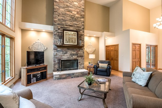 New Floor to Ceiling Fireplace (photo 4)