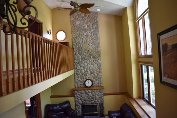 Gorgeous Stone Fireplace (photo 4)