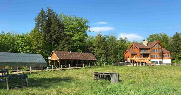 Single Family, Contemporary,Log - Tamworth, NH (photo 1)