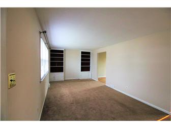 living room with built-in shelving (photo 4)