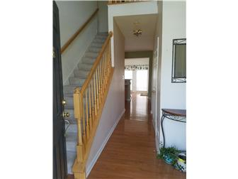 Two story Foyer with hardwoods (photo 3)