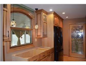 Kitchen just awaits you to pick out your counters. (photo 3)
