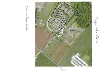 Aerial View Of Where Chicken Houses Can Go. (photo 2)