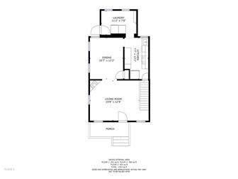Floor plan of main level (photo 3)