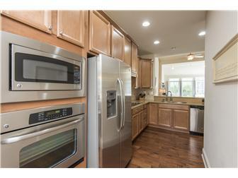 Kitchen View from Living Room & Pantry Door (photo 4)