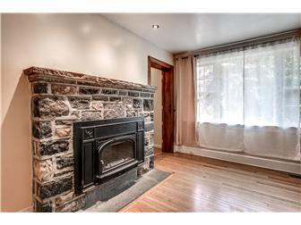 One of two stone fireplaces (photo 5)