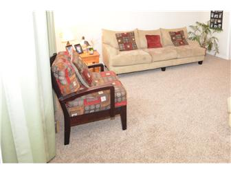 Neutral wall to wall carpeting (photo 4)