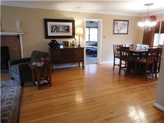 Gleaming hardwood floors throughout (photo 4)