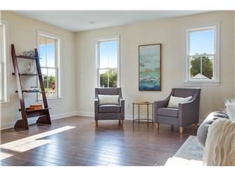 Versatile open floor plan w/ optimal natural light (photo 5)