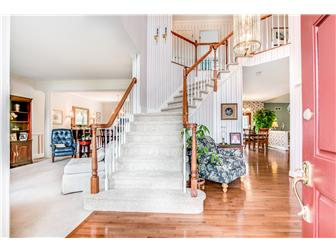 Two-Story Foyer with Turned Staircase (photo 2)