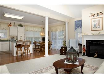 Great Rm. (contl) open to kitchen and dining area (photo 5)