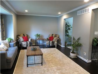 Large living room with picture window (photo 2)