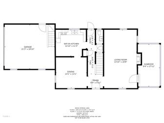 Main level floor plan (photo 3)
