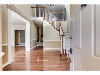 Grand Two-Story Foyer w/Turned Staircase (photo 2)