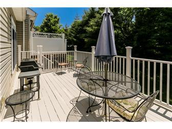 Deck Overlooks Wooded Area (photo 4)