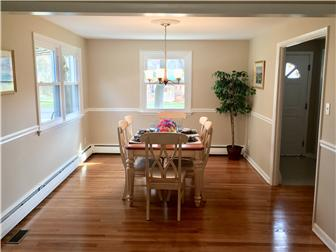 Light and Bright dining room with hardwood floors (photo 4)
