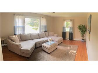 Large living room with lots of natural light (photo 5)