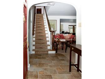 Entry area with slate floors (photo 3)