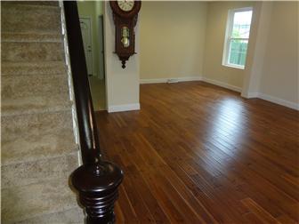 Original stairway & new gleaming hardwood floors (photo 5)
