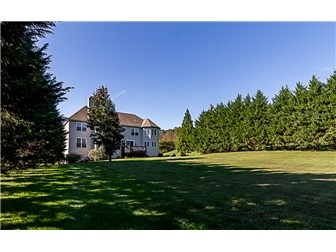 .83 acre lot and backyard big enough for soccer! (photo 4)