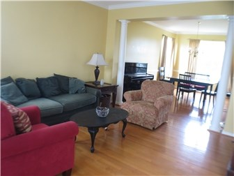 Formal living room into dining room (photo 4)