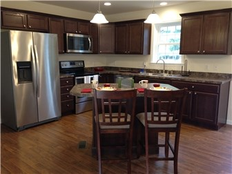 Ample Cabinets, Counter Space & Island (photo 3)