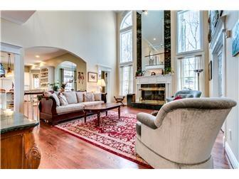 Two Story Great Room with Fireplace (photo 4)