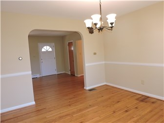 Dining Room with entry to Living Room (photo 4)