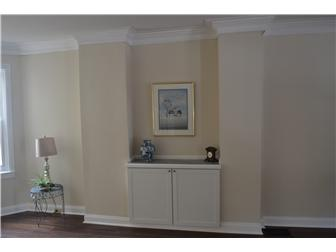 Built-In Cabinet; Extra Wide Crown Moldings (photo 5)