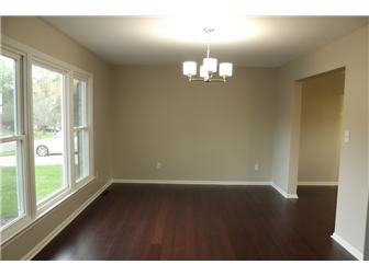 Spacious dining room with large picture window (photo 2)