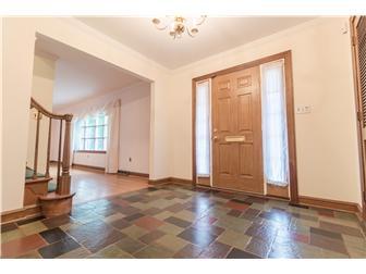 Main foyer entrance with slate tile floor (photo 4)