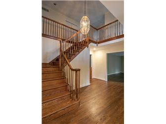 Beautiful Wooden Staircase from Foyer (photo 2)