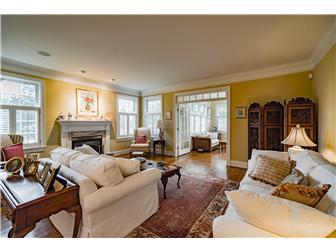 Elegant Living Room w/Fireplace (photo 3)