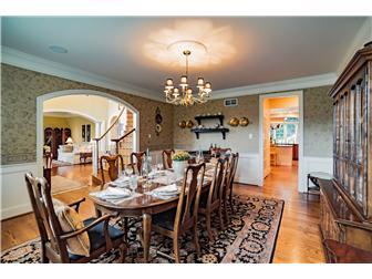 Tasteful Formal Dining Room (photo 4)