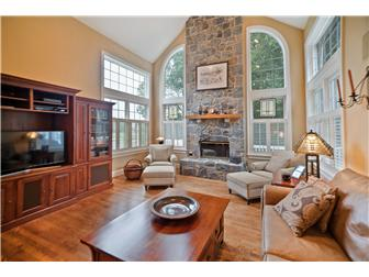 Family Room- Stunning Stone Fireplace (photo 5)