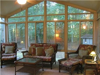 Sun-Room Overlooking Woods (photo 2)