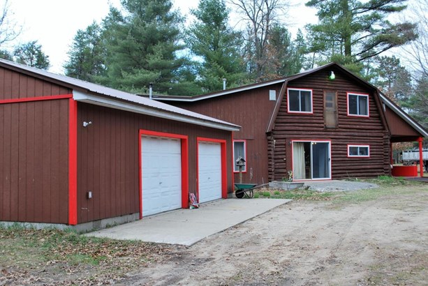 Single Family Residence, Log Home - Baldwin, MI (photo 1)