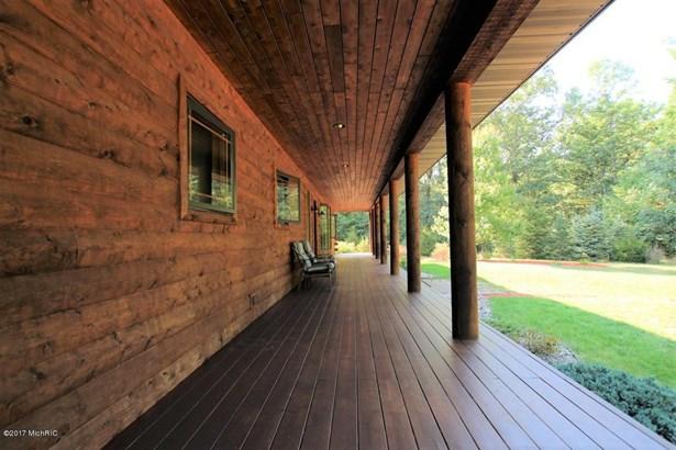 Single Family Residence, Log Home - Newaygo, MI (photo 2)