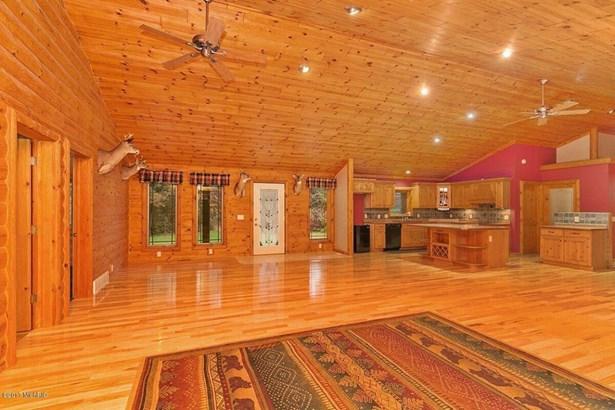 Single Family Residence, Log Home - Newaygo, MI (photo 5)