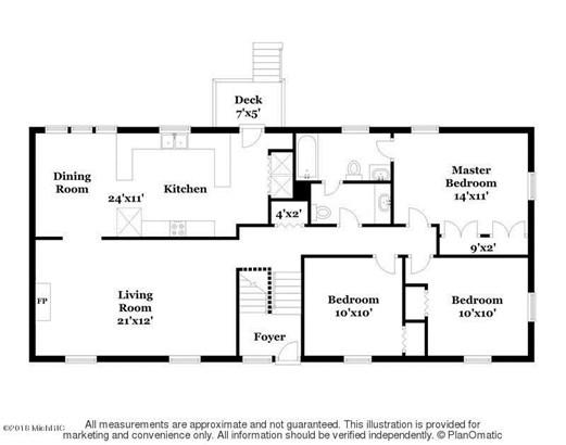 Single Family Residence, Bi-Level - East Grand Rapids, MI (photo 2)