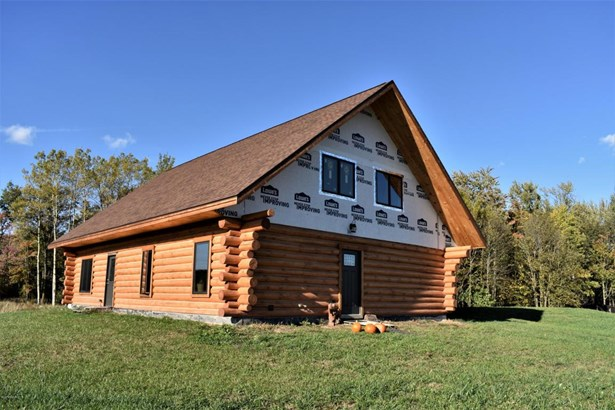 Single Family Residence, Log Home - Custer, MI (photo 1)