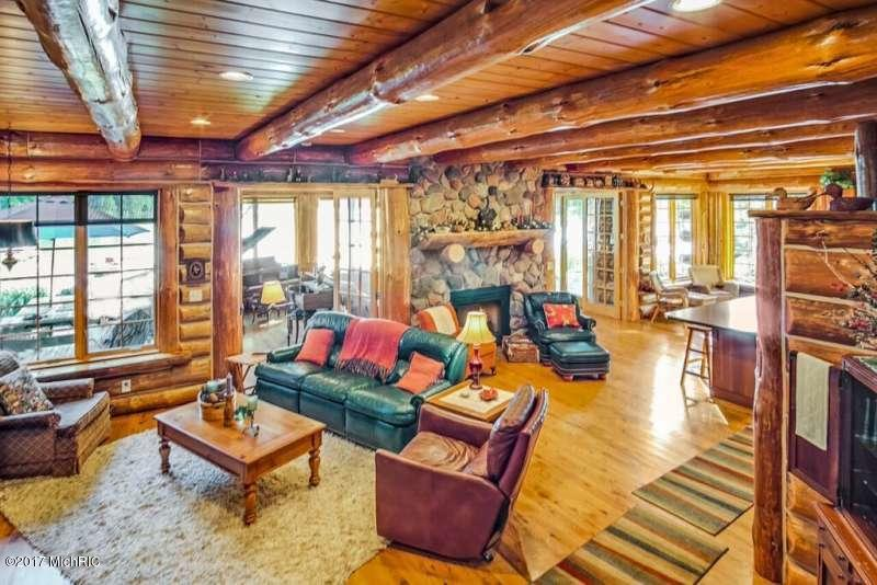Single Family Residence, Log Home - Scottville, MI (photo 4)