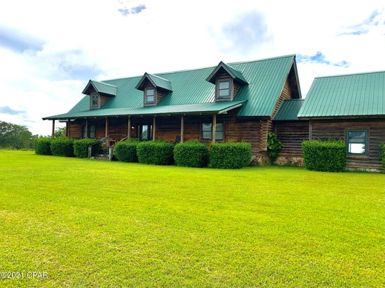Detached Single Family, Log Cabin - Bonifay, FL